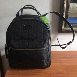 Kate Spade Wilson Road medium quilted backpack